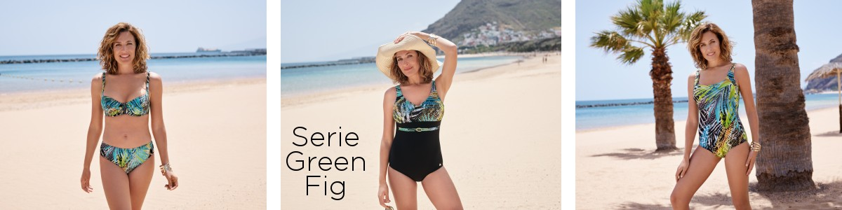 Felina Swimwear Serie-Kollektion Green Fig bei Dressuits online kaufen