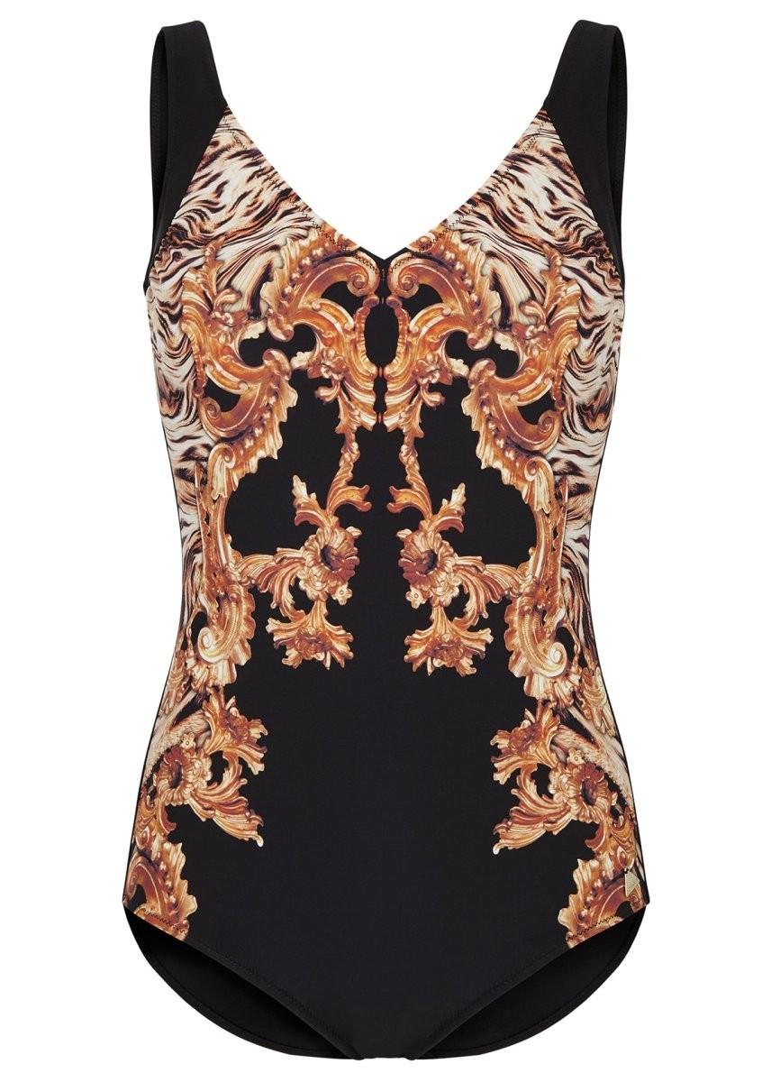 Felina Badeanzug mit Schale 5203297 Fancy Fur black marble tiger