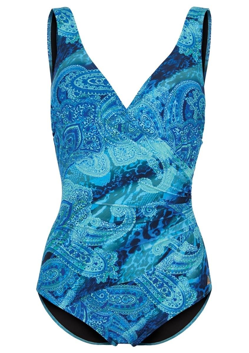 Felina Badeanzug mit Schale 5206298 Beach Paisley blue paisley