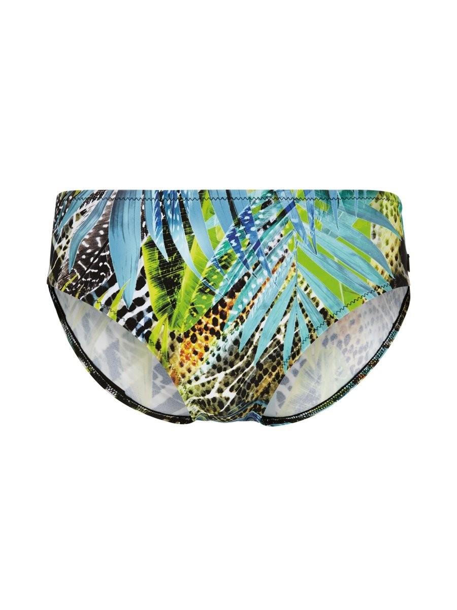 Felina Bikini Slip 5282299 Green Fig black jungle