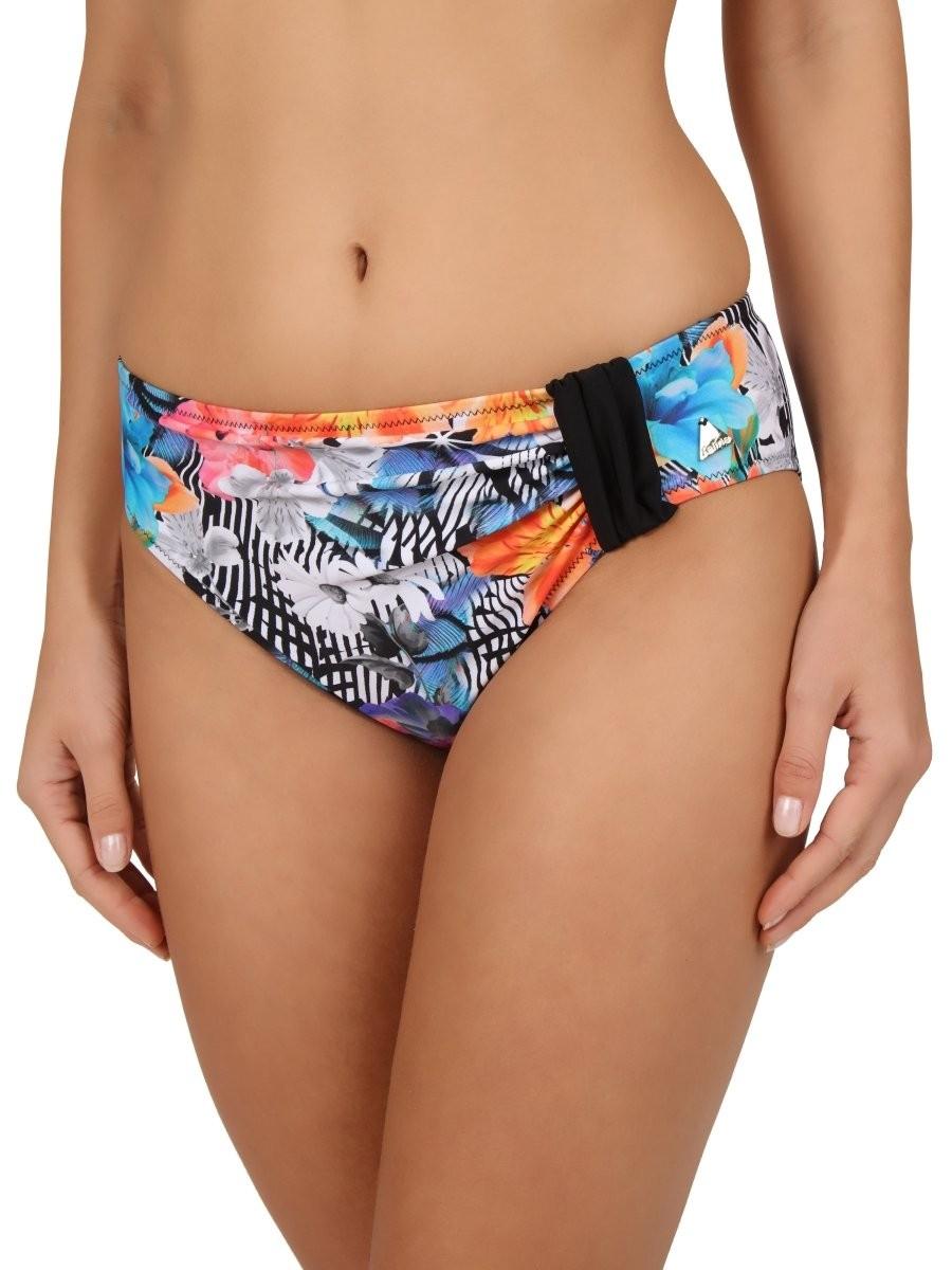 Felina Bikini Slip 5285296 Modern Flower black tropic