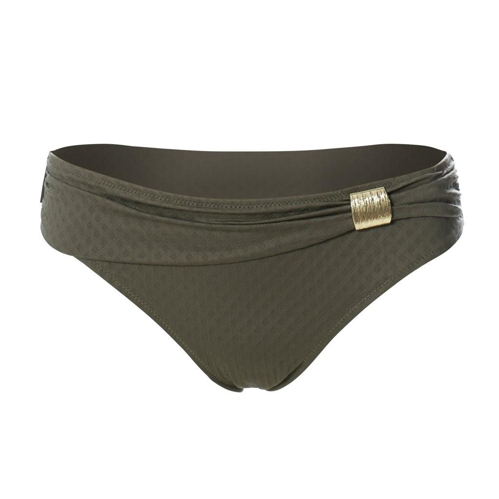 Ulla Lingerie féminine Bikini-Slip St. Tropez schmal 9133 olive